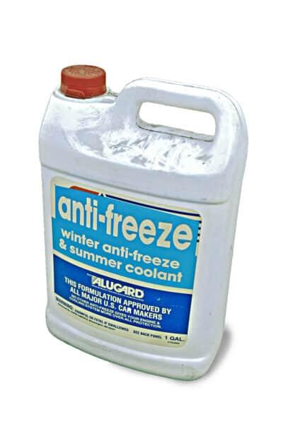 A gallon of Antifreeze