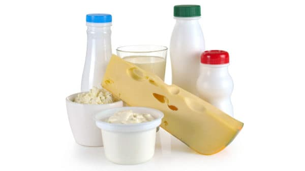 Dairy produce, including milk, cheese and yogurt